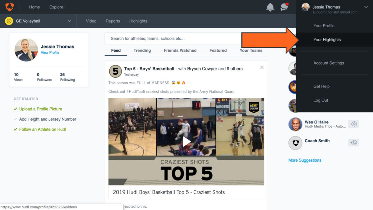 how to download hudl highlights - Log in to Hudl