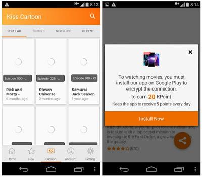 best 5 kisscartoon app alternative