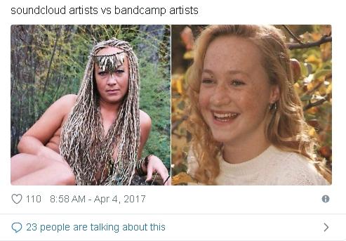 Claiis say: bandcamp vs soundcloud