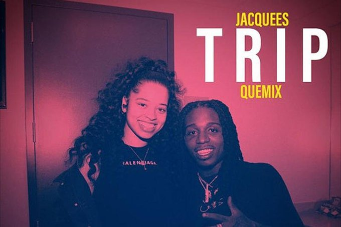 Did Ella Mai make Jacquees delete trip remix?