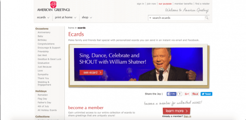 7 Free eCard Sites like JibJab - American Greetings