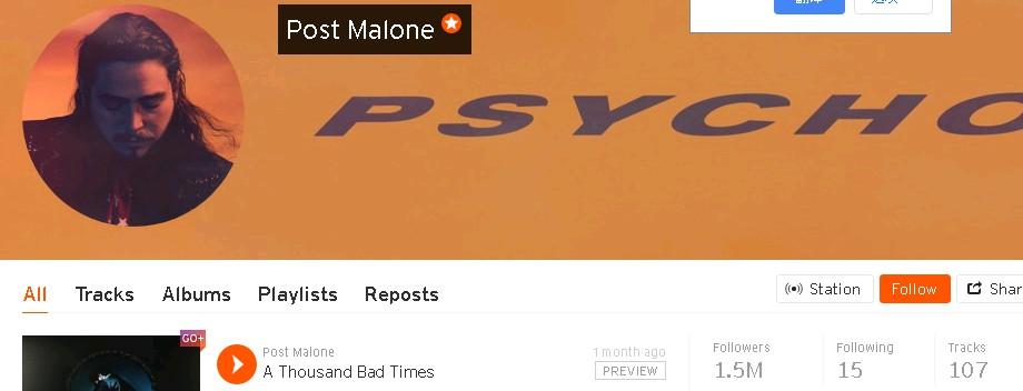 post malone on soundcloud