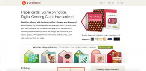 7 Free eCard Sites like JibJab - PunchBowl