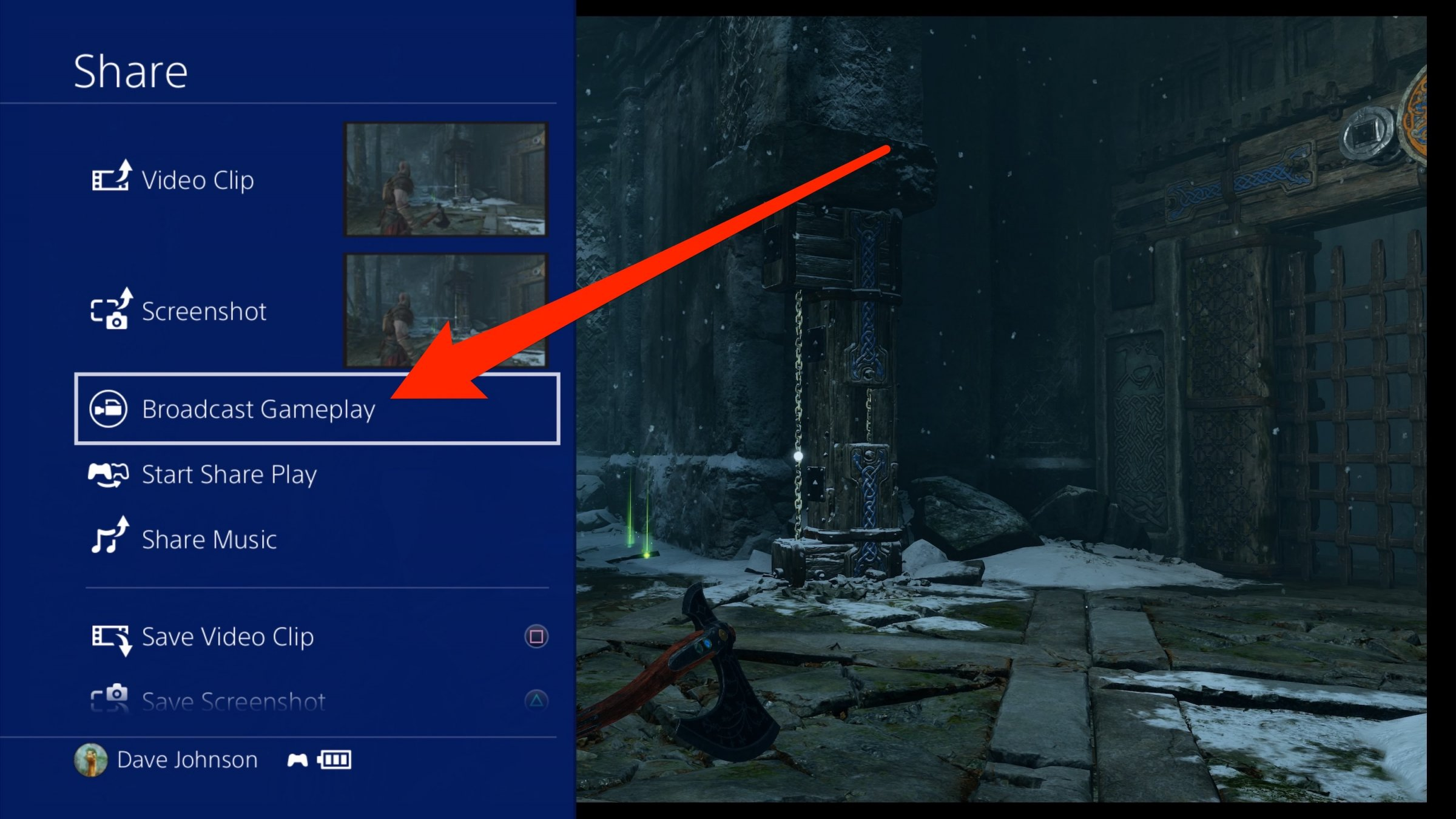 Follow the instructions to link your Twitch account to the PS4.